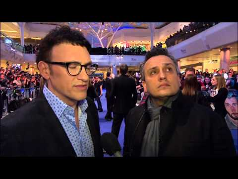 Captain America: The Winter Soldier: Directors Anthony & Joe Russo London Movie Premiere Interivew
