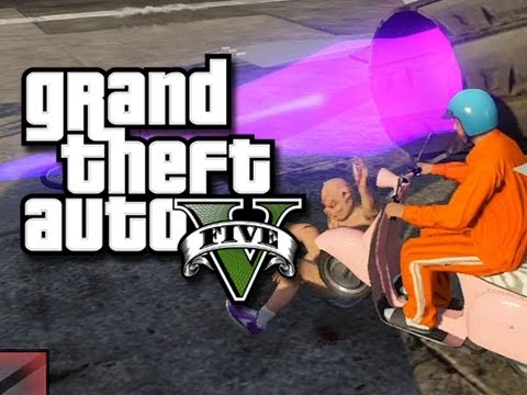 GTA 5 - Fun with Jets! (GTA 5 Invisible Jet Glitches, Breakdancing, and Funny Moments)