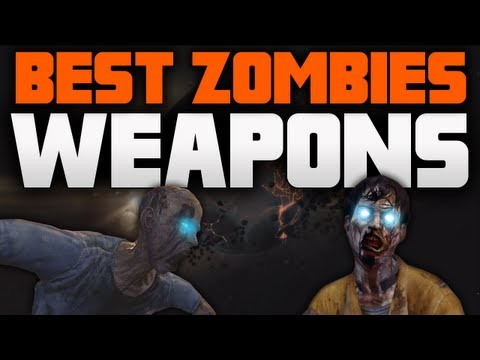 Black Ops 2: BEST ZOMBIES WEAPONS! (BO2 Zombies Gameplay - Best Guns)