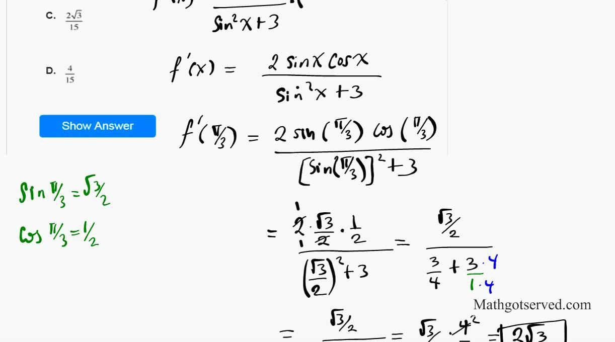 college math statistics