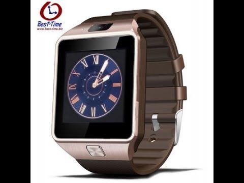 Умные часы-телефон DZ09 smart watch .Обзор