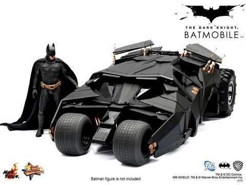 Batmobile Dark Knight Hot Toys Hot Toys The Dark Knight 1:6