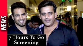 Latest Bollywood News - Special Screening For 7 Hours To Go - Bollywood Gossip 2016