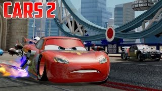 Cars 2 [HD] with Hook, Mater, Lightning McQueen, Holley, Luigi, Guido, Piston Cup #43 Gameplay