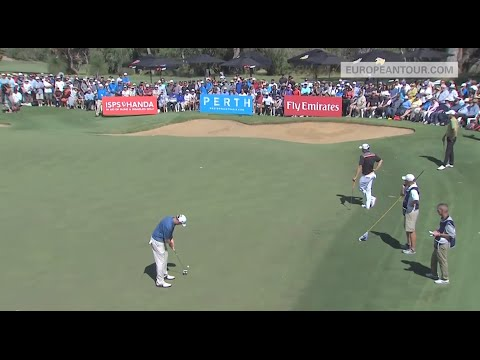 David Drysdale's Putt To Keep His Tour Card