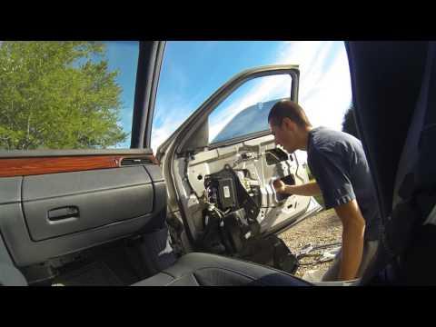 Repairing the broken window regulator 04 Deville