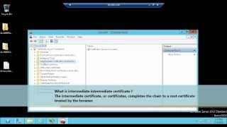 Complete Certificate Request in IIS 8 SSL : Certificate Part 4
