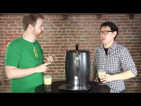 Quick Look at the Krups B90 Beertender