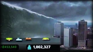 1 MILLION POPULATION VS 25.5 TSUNAMI - Cities Skylines