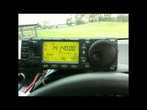My first ever overseas DX QSO back in 2010
