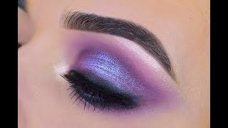 Huda Beauty Amethyst Obsessions   Eyeshadow Tutorial