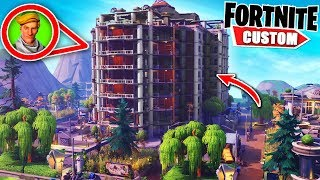 Fortnite 16 PLAYER HIDE and SEEK.. The BIGGEST one yet! PLEASE dont find me (Fortnite Creative Mode)