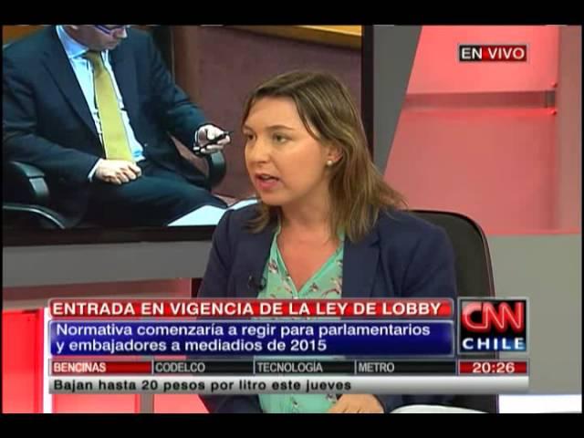 """María Jaraquemada sobre Ley de Lobby: """"Falta preparación y capacitación en los funcionarios"""""""