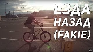 Step by Step #5: Как ехать назад, фэйки (How to fakie MTB/BMX)