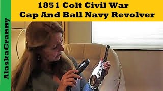 1851 Colt Civil War Cap And Ball Navy Revolver