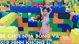 Vui Chơi Nhà Bóng | Nhạc thiếu Nhi | Bé Kem Đi chơi