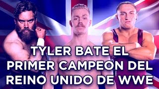 Tyler Bate Primer Campeon del Reino Unido de WWE/ Tyler Bates First Champion of the United Kingdom