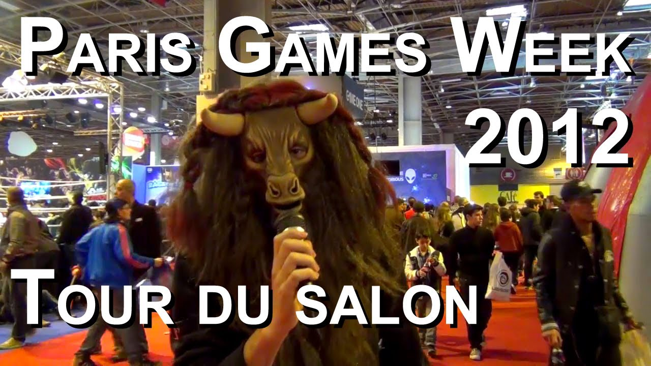 Plan du Paris Games Week Paris Games Week 2012 Tour