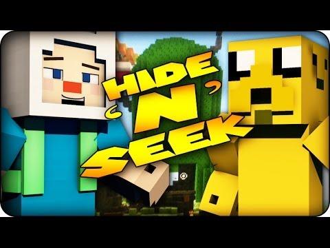 Minecraft Mods - MORPH MOD HIDE AND SEEK - ADVENTURE TIME! ( Morph Mod)