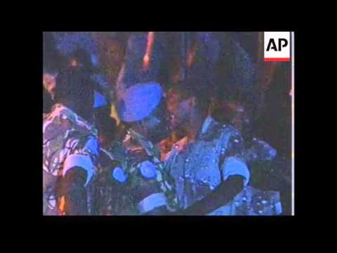 SIERRA LEONE: FREED UN TROOPS ARRIVE IN FREETOWN