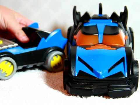 Fisher Price Imaginext DC Super Friends The Batmobile Review