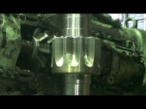Изготовление Вал-шестерни М20 z10 станок модель 5342