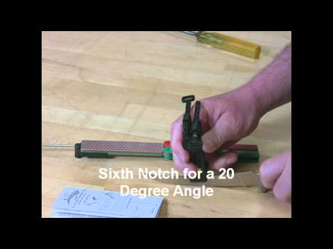 Video of Sharpening a Filet Knife with Magna-Guide™ Sharpening System