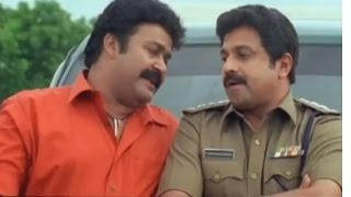 Raavanaprabhu | Mohanlal And Sidhique Fighting In Public Road