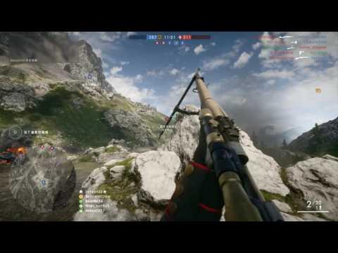 Battlefield 1 戰地風雲1 Scout偵查員 M1903春田+No.3左輪手槍