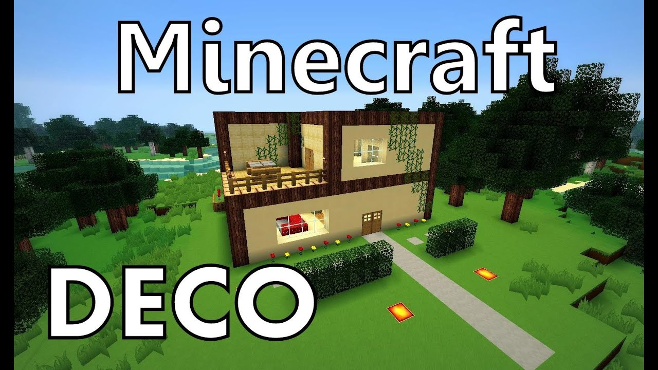 Minecraft comment cr er une maison moderne youtube for Comment construire une maison