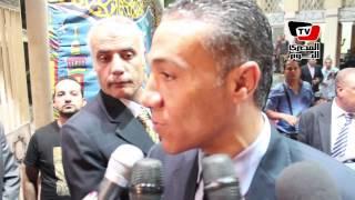 ابن شقيق أحمد رجب :  كان أب لى وأشكر يا سر رزق