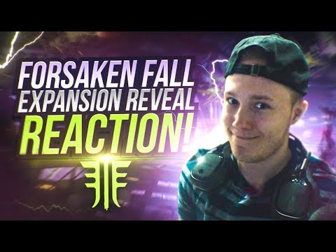 NEW FORSAKEN FALL EXPANSION REACTION! Destiny 2 Major Content Reveal! thumbnail