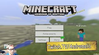 Прохождение Minecraft Windows 10 Edition - ИГРАЮ ПЕРВЫЙ РАЗ, ПЕРВЫЕ ВПЕЧАТЛЕНИЯ