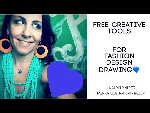 Get your free bundle of fashion design and fashion drawing tools!