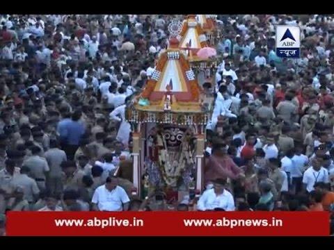 Jagannath Rath Yatra in Ahmedabad today