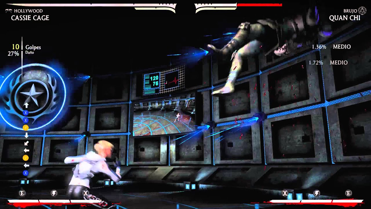 Cassie Cage Brawler Combos Mkx Cassie Cage Basic Combos