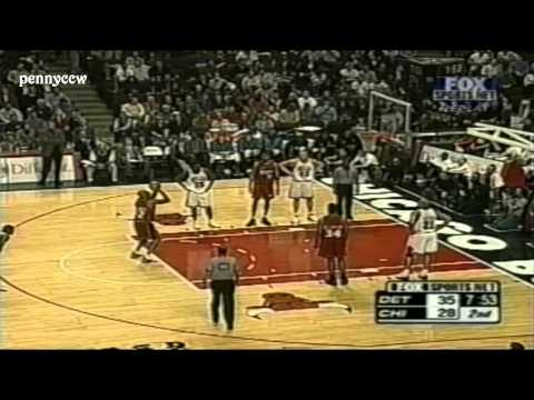 NBA Greatest Game: Jerry Stackhouse 57pts vs the Bulls (2001 NBA Season High)