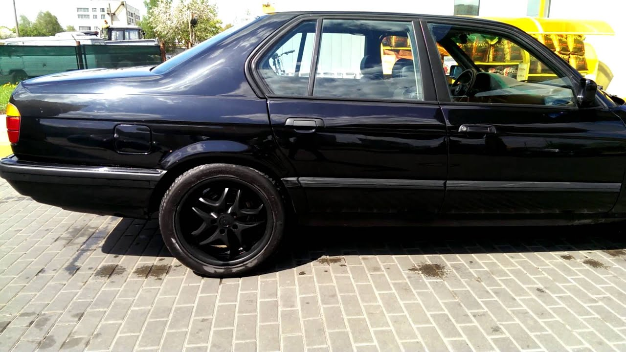 Bmw 730i E32 Tuning Bmw 730i E32 Black 1992 German