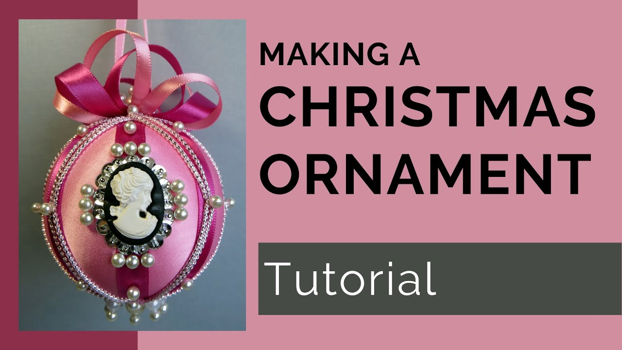 Victorian Style Christmas Ornament Youtube