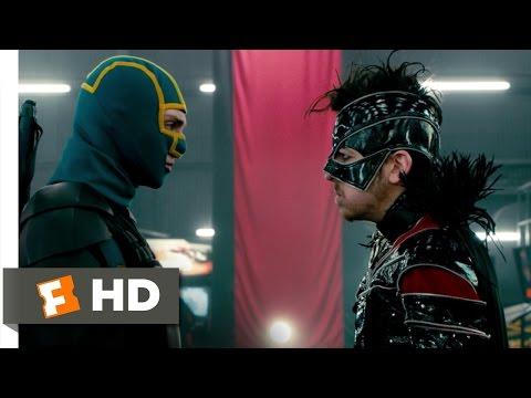 Kick-Ass 2 (10/10) Movie CLIP - Heroes vs. Villains (2013) HD