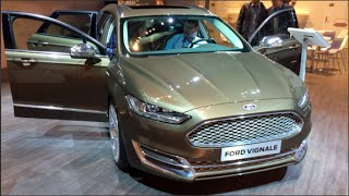 Ford Mondeo Turnier Vignale 2015 In detail review walkaround Interior Exterior
