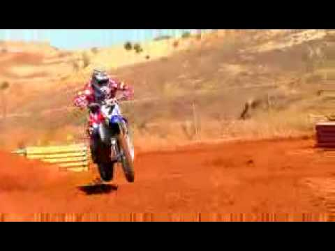 James Stewart - Yamaha yz 450 Video