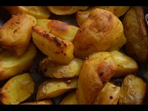 Картошка по-деревенски. Пальчики оближешь:)))))