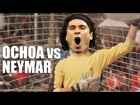 OCHOA vs NEYMAR- Brasil worldcup 2014