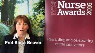 RCNi nurse awards entrant Prof Kinta Beaver on what it feels like to make the finals