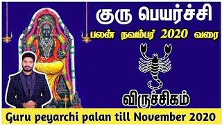 Guru peyarchi palan 2019 virchigam | குரு பெயர்ச்சி விருச்சிகம் ராசி பலன்2019