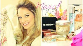 March Favs 2015! ✿ BEST Concealer, Drugstore Makeup, Coconut Scrub & more!