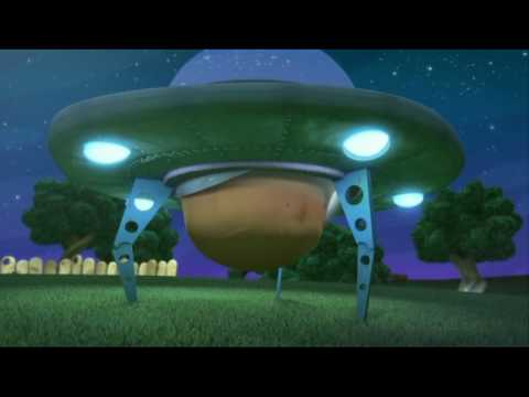 GLUMPERS (104x2') - The UFO - Cartoon comedy