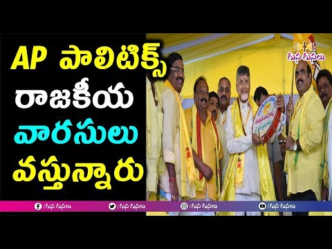 AP లో రాజకీయ వారసులు వీరే | Next Generation Political Leaders | TDP In Next Elections | AP politics