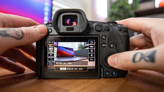 BEST Canon R5 Video Settings | In-depth Guide
